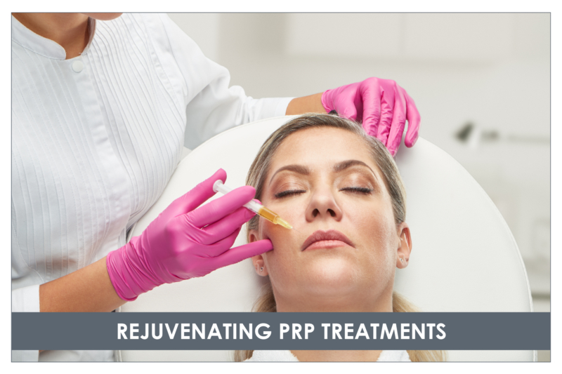 PRP Vampire facial treatments