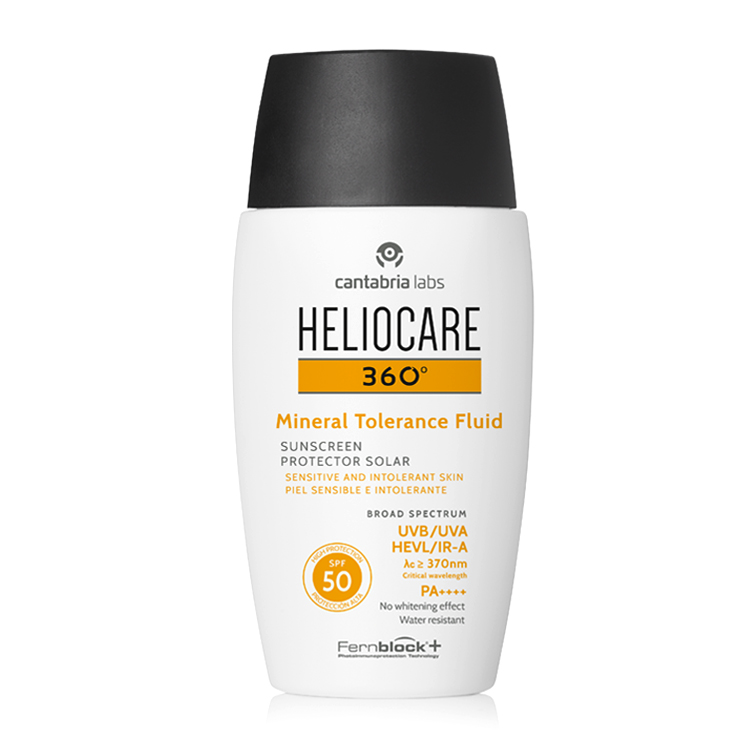 Heliocare 360 mineral tolerance fluid new