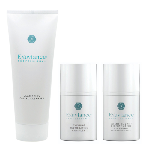 An Exuviance set for combination skin