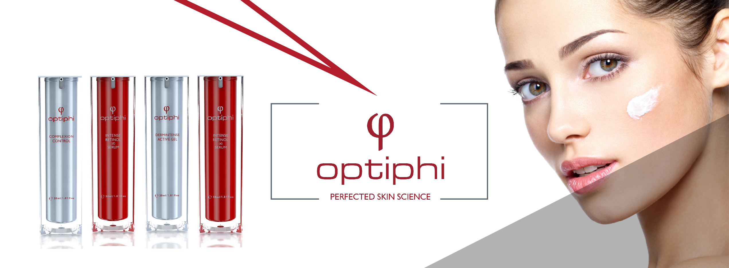 optiphi skin care range