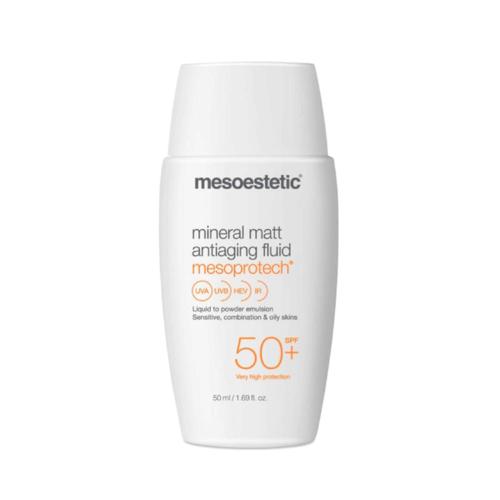 Mesoestetic Mesoprotech Mineral Matte Antiaging Fluid 50+