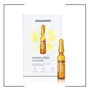 Mesoestetic anti-aging flash ampoules