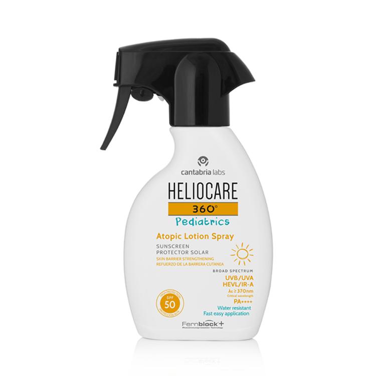Heliocace 360 pediatrics Atopic Lotion spray